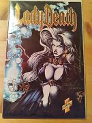 Lady Death Ii Between Heaven And Hell 1 1995 Signed By Pulido/hughes/jenson