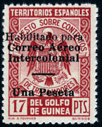 Guinea 259j Provisional Issue. Tax Seals For Mail.