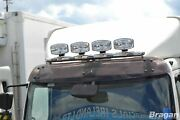 Roof Bar + Leds + Led Spots S For Mitsubishi Canter Front Truck Stainless Steel