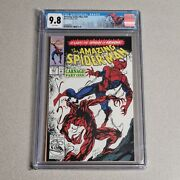 Amazing Spider-man 361 Cgc 9.8 1st Full Appearance Carnage Hot Book Marvel