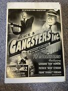 Mezco Toyz 10 Black And White Gangsters Inc Limited Edition Patrick Iron Oand039brian