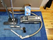 Electrolux Silverado Canister Vacuum Cleaner W/accessoriesworks Pick-up Only