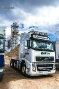 Roof Bar + Led + Led Spots S + Amber Beacon For Volvo Fh4 2013+ Globetrotter Xl