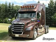 Roof Bar + Led Spots Lamps S For Freightliner New Cascadia Stainless Steel Truck
