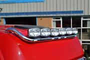 Roof Bar + Led Spots S + Clear Beacon For Mercedes Actros Mp4 12+ Big Space Cab