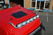 Roof Bar + Leds + Led Spots S For Daf Xf 95 Superspace Cab Truck Stainless Steel