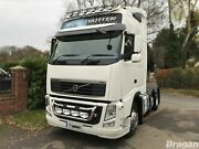 Grill Bar C + Led Jumbo Spots + Step Pad + Side Leds For Volvo Fh Series 2 And 3