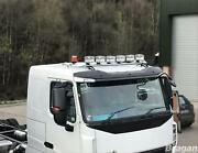 Roof Bar+led Spots+amber Beacons For Mitsubishi Fuso Super Great Stainless Truck