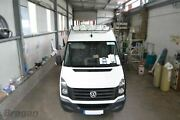 Roof Bar+ Jumbo Led Spots Lamps For Renault Master 2003-2010 Stainless Top Bar
