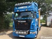 Roof Bar + Led Spots S + Clear Beacon For Scania 4 Series Topline Cab Truck Lamp
