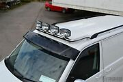 Roof Bar + Jumbo Led Spots Lamps For Ford Transit Tourneo Connect 2002-2014 Bar