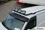 Roof Bar + Led Spots+clamps For Ford Transit Tourneo Connect 2002 - 2014 - Black