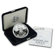 2000 Us Proof American Silver Eagle Government Package Ogp Perfect