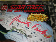 Only 1 Star Trek Next Generation 43 Cgc 9.8 Ss 1993 Signed By Jonathan Frakes