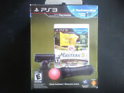 Tiger Woods 12 Move Bundle Ps3 Brand New, Complete, Free Ship Can