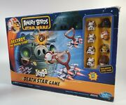 Vintage Angry Birds Star Wars Death Star Jenga Game Complete