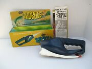 Vintage Popeil Tadpole Fishing Rod And Reel Combo Pocket Fisherman In Orig Box