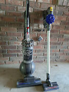 Dyson Cinetic Animal+ Upright Big Ball Vacuum Cleaner And Dyson V6 Slim Stick