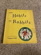 The Habits Of Rabbits Written And Illustrated By Virginia Kahl 1957 Hardcover