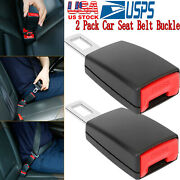 2pcs Universal Car Extension Socket Buckles Auto Safety Extender Clips Tool New