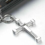 The Fast And The Furious Dominic Toretto Cross Love Men Classic Necklace Gift .