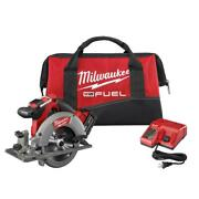 Milwaukee Circular Saw 18-volt Lithium-ion With Battery Charger Tool Bag