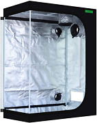 48x24x60 Reflective 600d Mylar Hydroponic 4and039x2and039 Grow Tent For Indoor Plant