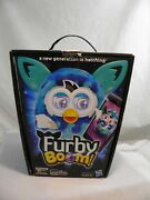 2013 Furby Boom A New Generation Is Hatching Waves Pattern Teal Hasbro Toys