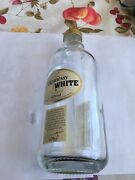 Hennessy Pure White Cognac Empty Bottle Collectible