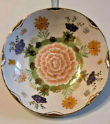 Porcelain Plate.hand Painted. Painter -lola Karlsson 2008 Y.