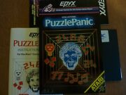 Puzzle Panic By Epyx 32k Atari 400-600-800 Computers With Disk Drive