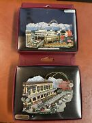 Lot Of Two Seattle Brass Christmas Ornaments Pike Place Market