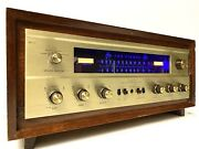 Fisher 800c Am/fm Stereo Tube Receiver 12ax7 Quad Matched 7591 Serviced Nearmint