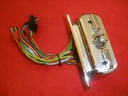 1966 Ford Thunderbird 6-way Power Seat Control Switch And Bezel.