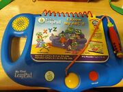 My First Leap Pad Learning System Leap Frog W/ Backpack And 4 Books