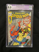 Amazing Spider-man 98 Cgc 8.0 Slight C-1 Drug Issue Not Approved By Code Romita
