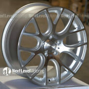 Circuit Performance Cp31 18x8 5-114.3 +40 Machined Silver Wheels Rims Set Of 4