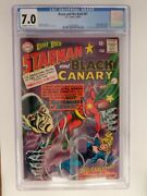 Brave And The Bold 61 Cgc 7.0 1965 Origin Of Black Canary And Starman 1st Mist