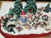 """The Dreamsicles At The North Pole 7 1/2""""x12"""" Figurine The Danbury Mint"""