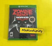 Zombie Army Trilogy Xbox One Rebellion/ Sold Out Rare New Factory Sealed