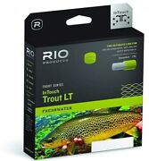 Rio Intouch Trout Lt Floating Fly Line Beige/gray/sage Ottoand039s Tw