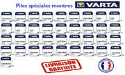 Varta Brand 1.55v Button Cell Batteries Silver Oxide Pro Quality Free Shipping