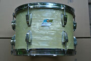 70and039s Ludwig 13 White Marine Pearl Classic Series Tom Shell For Drum Set S126