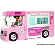 Toys-barbie - 3 In 1 Camper /toys Uk Import Toy New