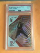 2018-19 Panini Revolution Trae Young Rc Rookie 150 Base Psa 9 Mint Graded Hawks