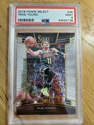 2018 Panini Select Trae Young Rookie Card Rc Psa 9