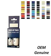 Volvo Touch-up Paint Pencil Set With Brush Full Palette 2x 9ml 0.30oz Genuine