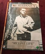 Morrissey- My Love Life -record Store Promo Poster Giant 39 X 59
