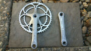 Campagnolo Mirage Double Crankset Drive Side Road Bike172.5mm 52/39 Italy