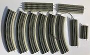 Lionel Fastrack 6 O-36 Curved 3 Straight 10 1 Uncoupling Track Sections